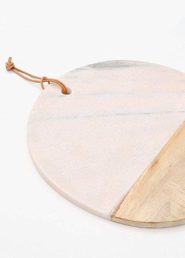 vassoio_marmo_rosa_design_regali_natale_pink_marble_serving_board_round
