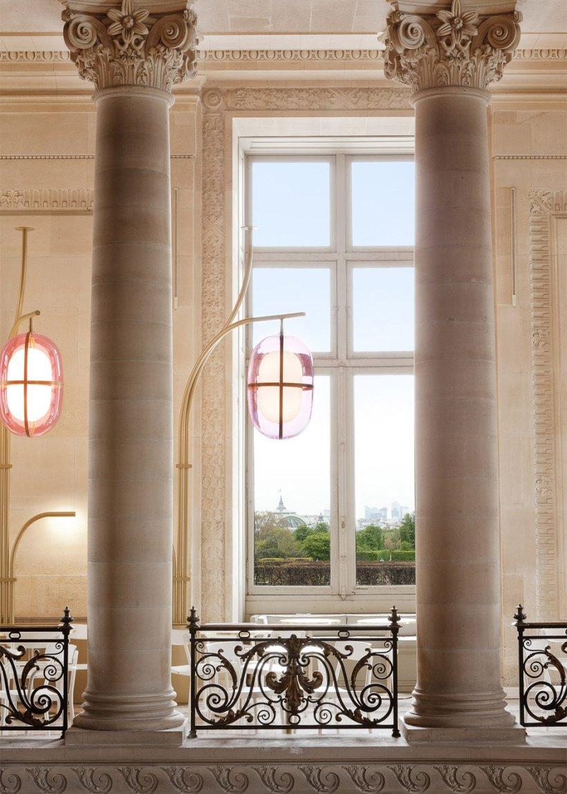 designe rfrancese cafe louvre museo parigi