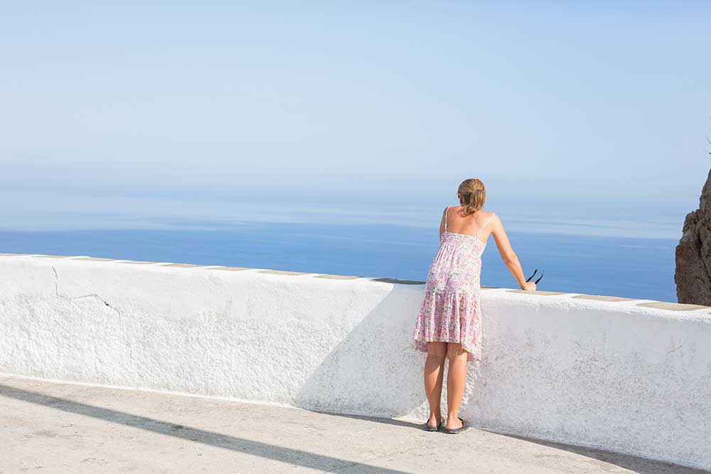 Spaciousness, Folegandros