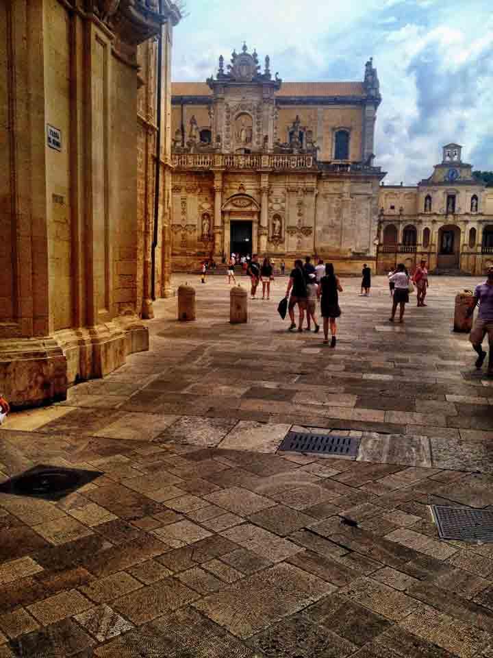 The Center of Lecce