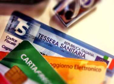 At last! My Tessera Sanitaria card that shows enrollment in Italy's National Health Plan.