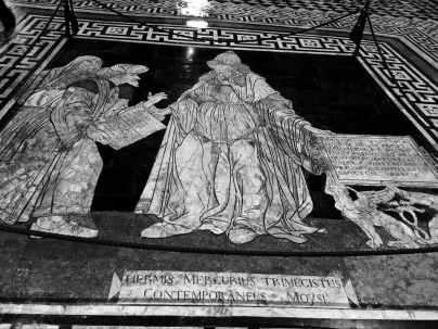 Duomo Siena, Ermete Trismegisto