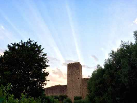 Monteriggioni, Dettaglio