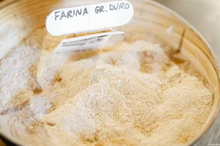 Farina di grano duro, Mulino Valdorcia