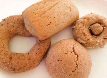 I biscotti con farine biologiche realizzati da Fabio, proprietario dell'azienda agricola Melagrani - ItalyzeMe CC BY-NC-ND 2.0