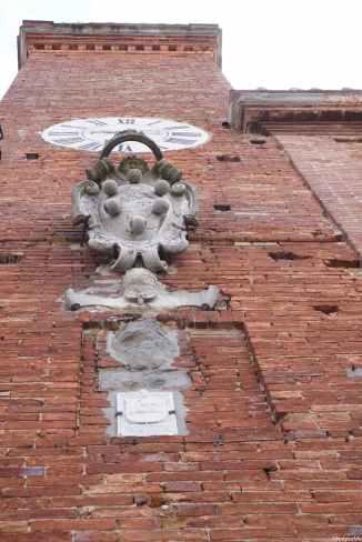La torre del palazzo municipale di Torrita di Siena
