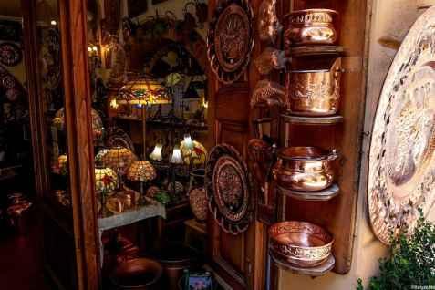 Bottega del rame in via dell'Opio nel Corso, Montepulciano