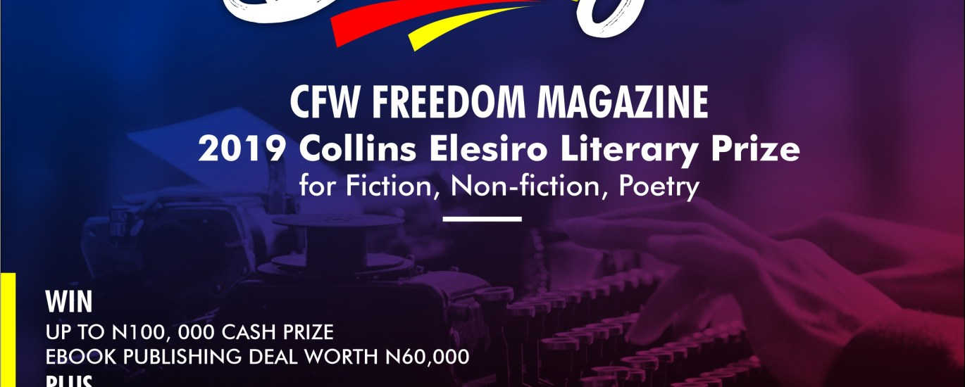 cancellation of collins elesiro prize december 2019