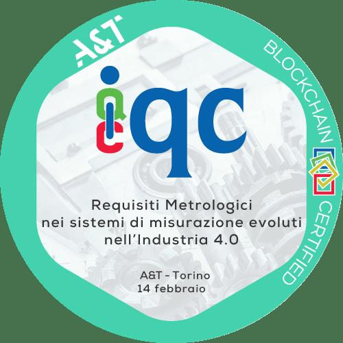 Workshop 2020 Requisiti Metrologici, sicurezza e inalterabilità dei dati nei sistemi di misurazione evoluti nell'Industria 4.0