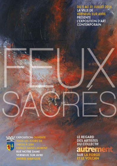 Affiche Feux Sacres