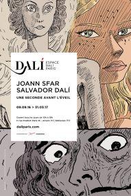 Affiche Joann Sfar Salvador Dali portrait HD