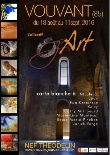 affiche Vouvant OZ'ART 2016