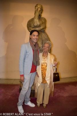Fabrice di Falco, et sa mère