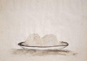 Sans titre Aquarelle sur papier 28 mars 1946 © CEE-CHSA, 2016 28 x 37,7 cm Inv. n°0175