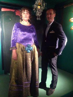 Véronique Fourcaud et Pierre-André Hélène