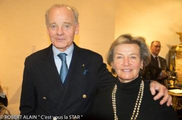 Prince et Princesse Constantin Mourousy