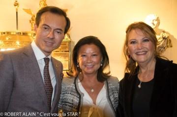 Stéphane Ruffier Meray, Jeanne d'Hauteserre et la Princesse Caroline Murat