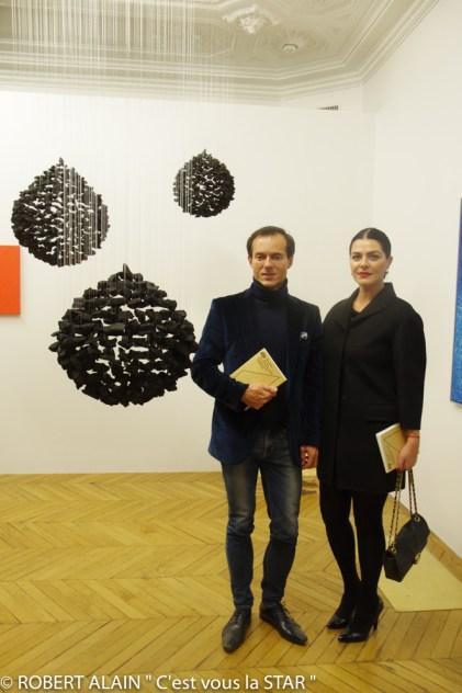 Stéphane Ruffier Meray et Irada Afagi