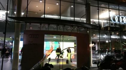 Pop Art à Audi city Paris