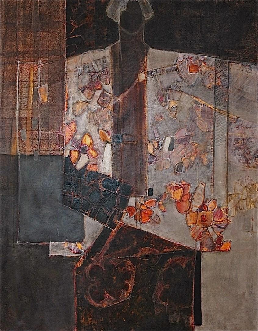 SEVERAC Catherine Ailleurs 6 146 x 114 huile sur toile