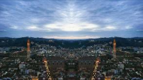 vue sur Florence du haut de la cath+®drale