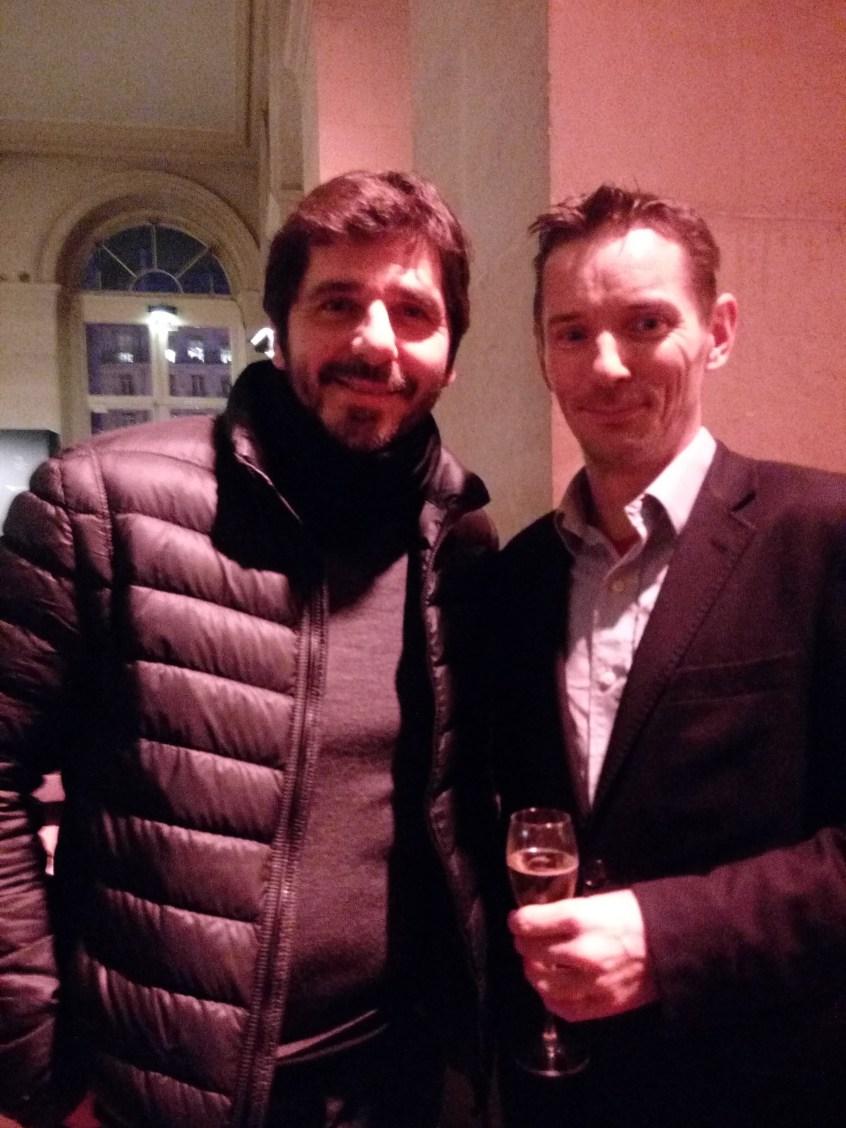 Patrick Fiori et Olivier Freulon