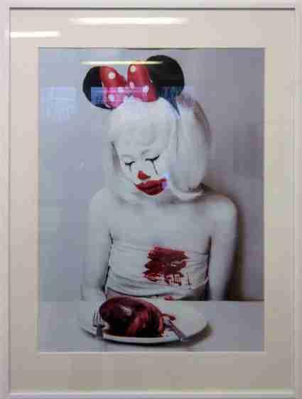 Clown, autoportrait de Lili TAO