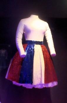 Yvette Horner pour le spectacle du bicentenaire de la Révolution française