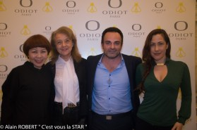 Ken Okada, véronique Grange-Spahis, Laurent Amar, Myriam Charteins