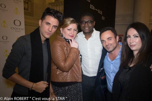 Ludovic Baron, Myriam Larrière, Dany Dombi, Laurent Amar