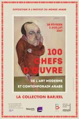 affiche collection Barjeel à l'IMA