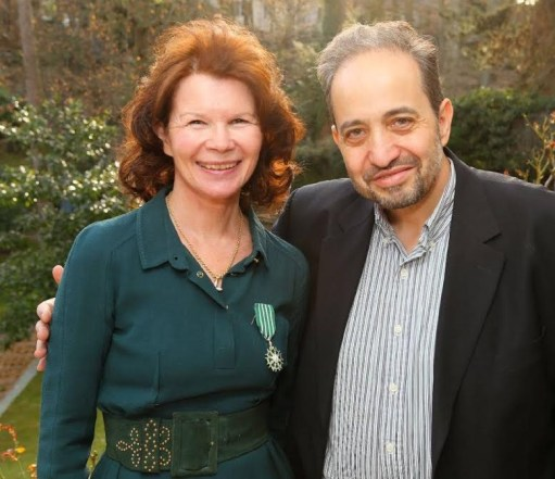 Martine Boulart et Robert Nasrallah. photo Karel de Gendre