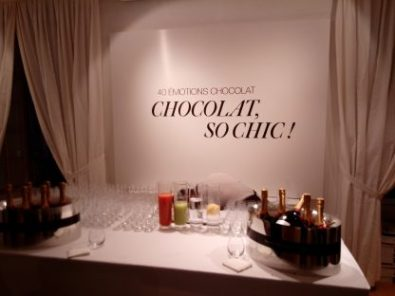Choc is chic