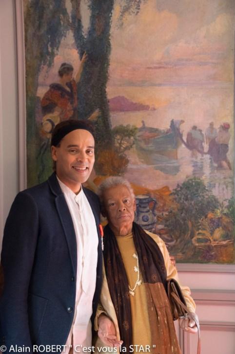 Fabrice di Falco et sa mère