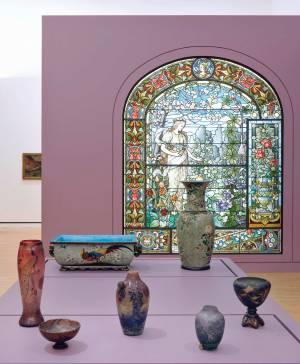 Salle art nouveau au MAMCS