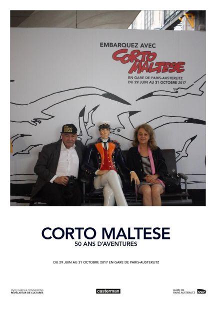 Alain Robert, Corto Maltese, Véronique Grange-spahis