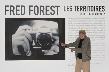 Fred Forest, Les Territoires