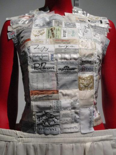 juste des étiquettes textiles