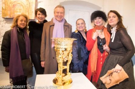 Véronique Grange-Spahis, Pia Piard, Jean-François Mancel, Paola Caovilla, Brigitte Mancel, Sigrid de Montrond