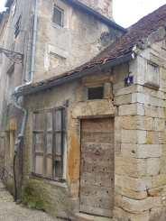 Maison médiévale dans le quartier populaire de la ville