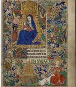 Livre d'heures dit de Yolande d'Aragon: «la Vierge Marie et la chasse à la licorne» Enluminure sur parchemin, vers 1460 – 1470 Ms 22 (Rés. ms 2) © Bibliothèque Méjanes, Aix-en-Provence