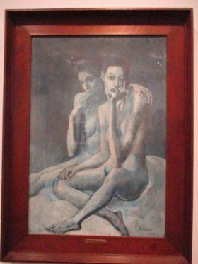 Picasso, bleu et rose