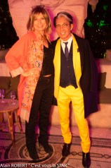 Brigitte Mancel et Kenzo Takada