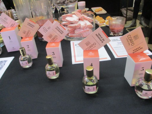 Corpo 35, Concours de créateurs de Fragrances