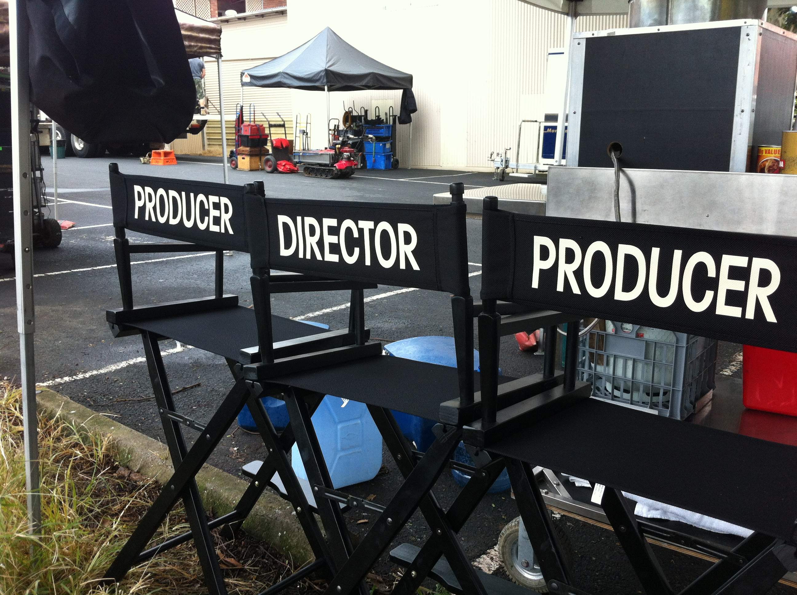 Image result for the director on a film set