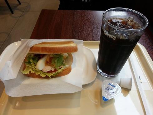 川西能勢口のドトールコーヒーで、7時30分よりモーニングはおすすめ!