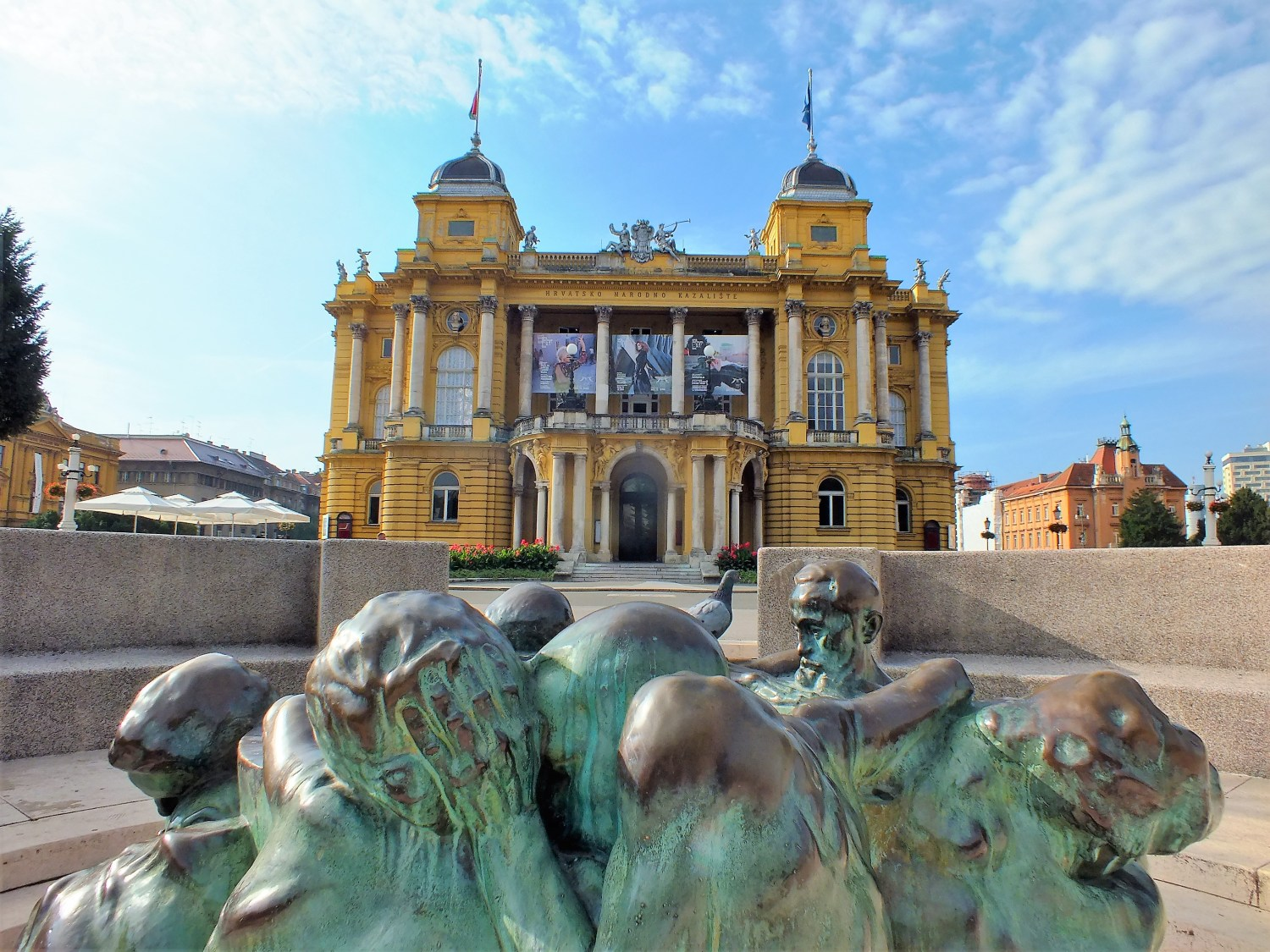 Zagreb has the charm of a small Central European metropolis