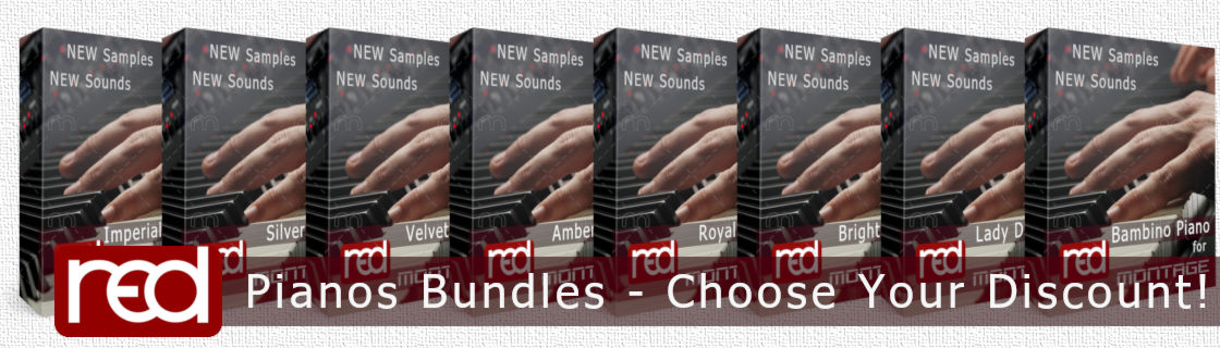 red Pianos Bundles - Choose Your Discount!
