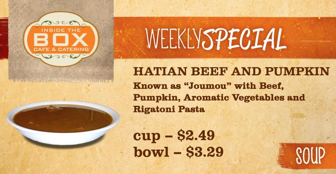 Hatian Beef and Pumpkin - Soup