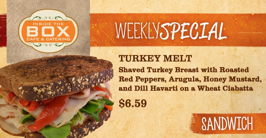 Turkey Melt - Sandwich